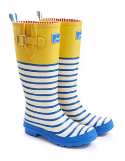 W is for Wellies this Weekend
