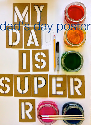 Dad's Day Poster