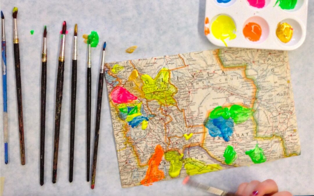 painting maps