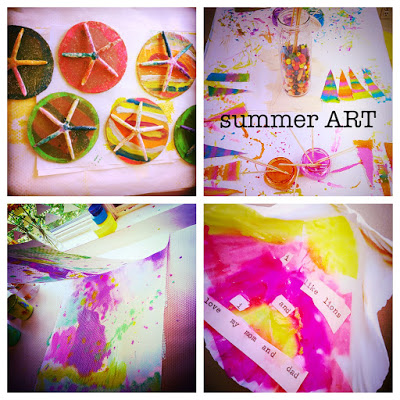 summer ART starts NOW!