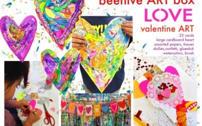 LOVE box.. valentine ART!